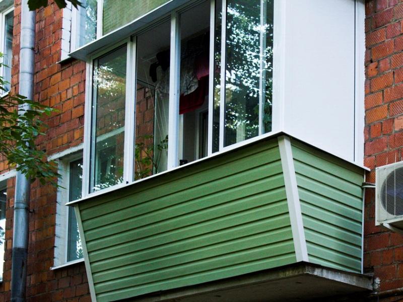 балкон сайдинг