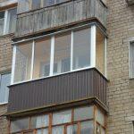 Обшиваем балкон снаружи профнастилом