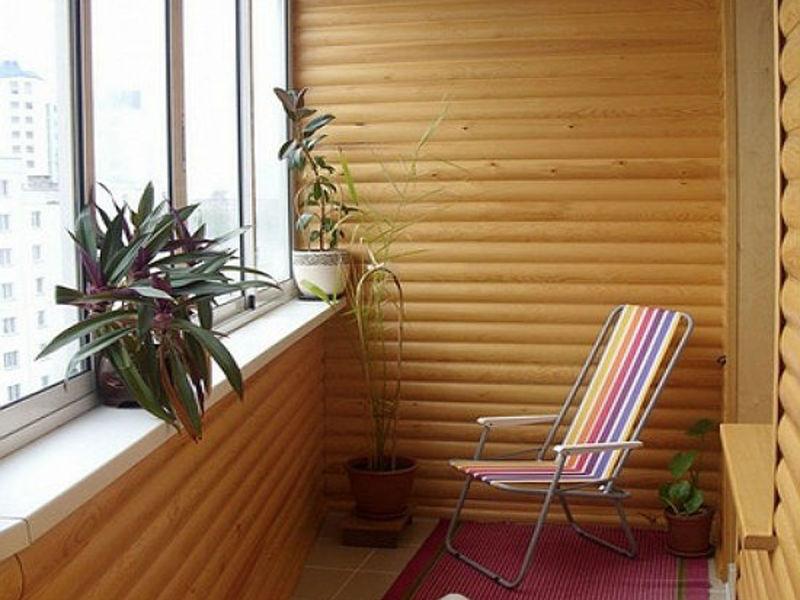 блок-хаус-балкон