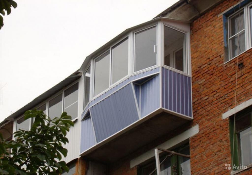 обшить балкон снаружи